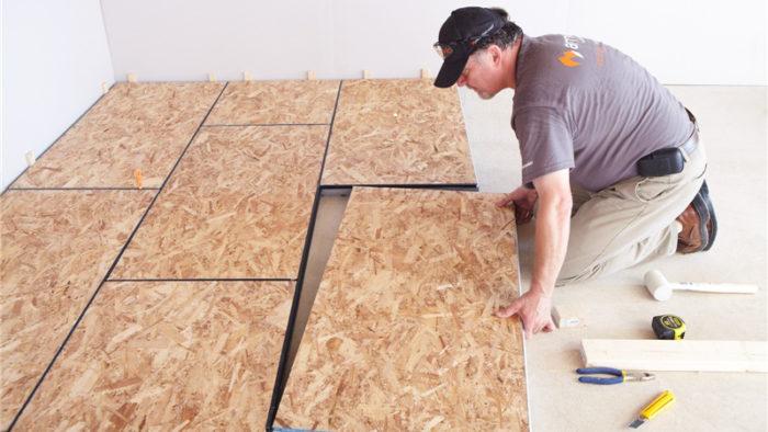 DRIcore vs Plywood for Basement Subfloor Installation ...