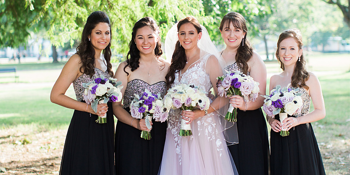 Bridal Party Definition with Bridesmaid Dress